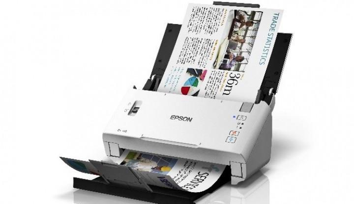 Epson Tempati Peringkat Teratas untuk Kategori Produk Scanner