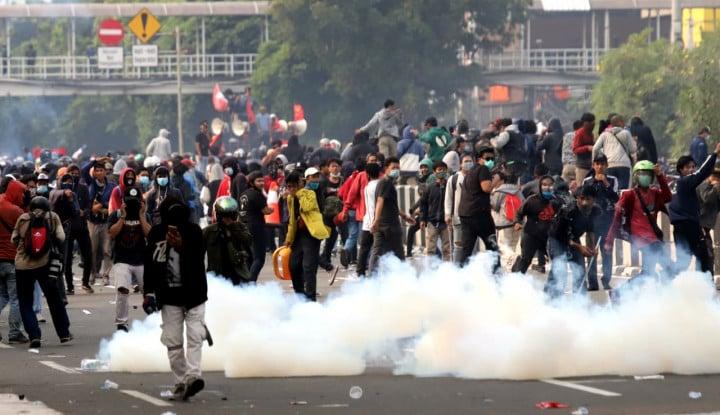 Demo Omnibus Law Tumpah di Jakarta, PSBB Ketat Anies Bakal Berakhir Sia-sia