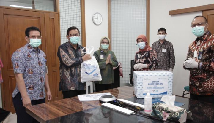 Ikut Tanggulangi Covid-19, Surveyor Indonesia Berikan Masker N-95 bagi Tenaga Medis RSCM