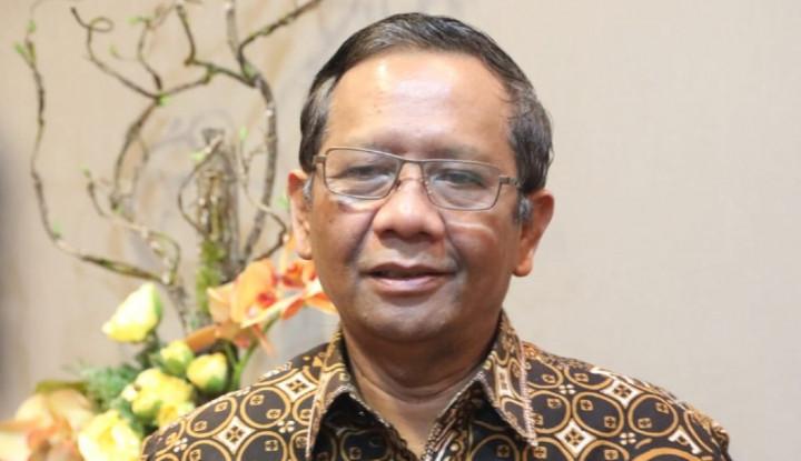 Tak Takut KKSB, Mahfud MD Lanjutkan Investigasi TGPF