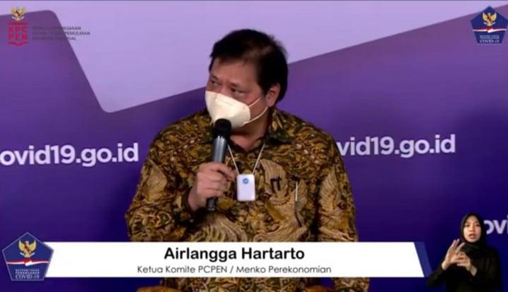 Airlangga Hartarto: Arahan Pak Jokowi, Perkuat PPKM Mikro!