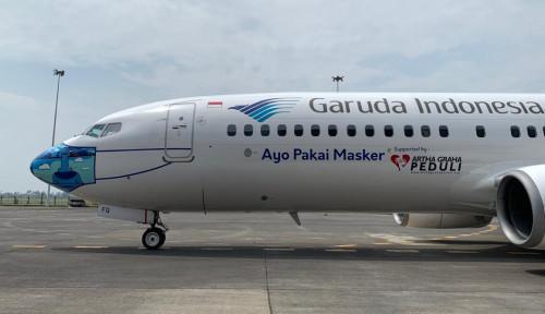 Ada Larangan Mudik, Garuda Indonesia Siapkan Kebijakan Antisipatif Layanan Penerbangan