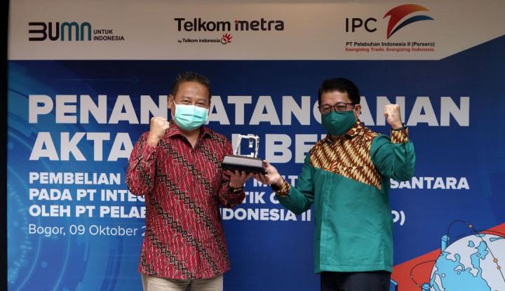 Pelindo II Akuisisi Saham PT Multimedia Nusantara di ILCS