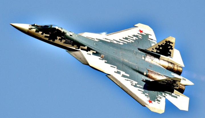 Media AS Terguncang Lihat Su-57 Sanggup Lindungi Pilot Mati Kedinginan Tanpa Penutup