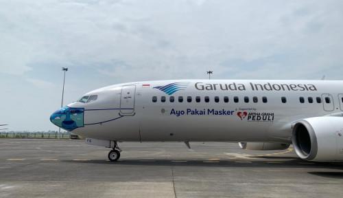 Penumpang Rute Domestik Garuda Indonesia Dapatkan Layanan Antigen Gratis
