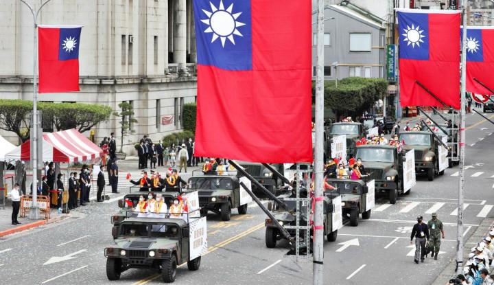 Waspadai China, Taiwan Gelar Latihan Perang Gunakan Mortir hingga Tank