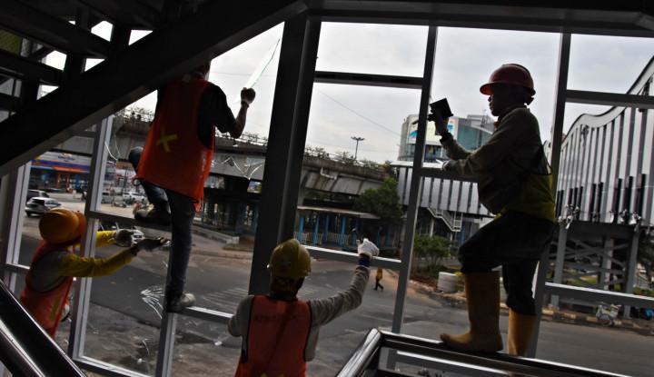 Halte Transjakarta BI Dibongkar, Begini Rekayasa Lalinnya...