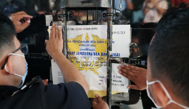Bea Cukai Cirebon Dampingi Trial Export Transportasi Multimoda