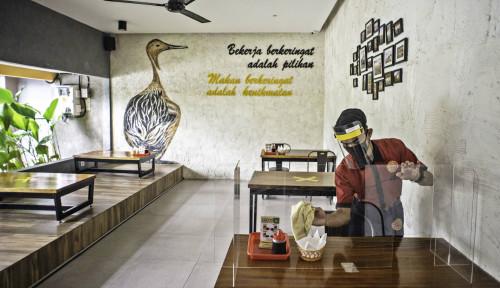 Foto Pandemi Luluh Lantakan Bisnis Kuliner, Omzetnya Terjun Bebas