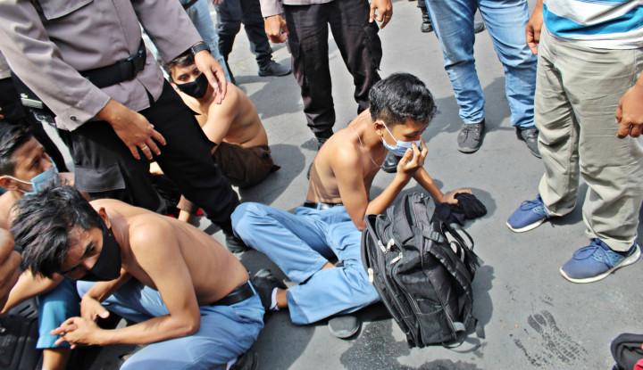 Dalang Kerusuhan Demo Tolak UU Cipta Kerja di Sumut Terciduk, Dia Adalah...