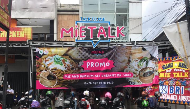 Mie Talk, Rekomendasi Kuliner Murah Meriah di Jogja