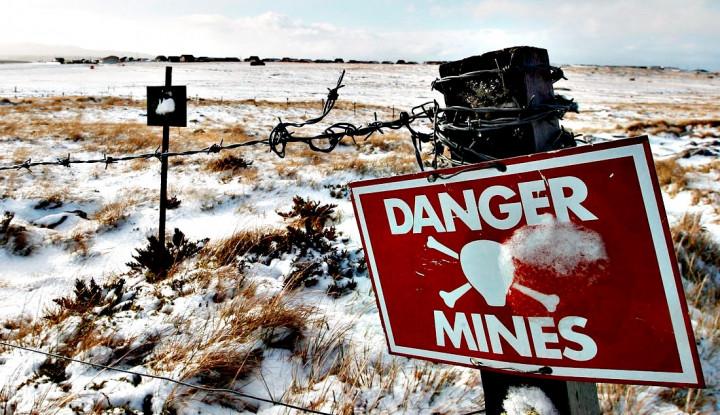 Negara-negara yang Menjadi Sarang Ranjau Darat Terbesar di Dunia