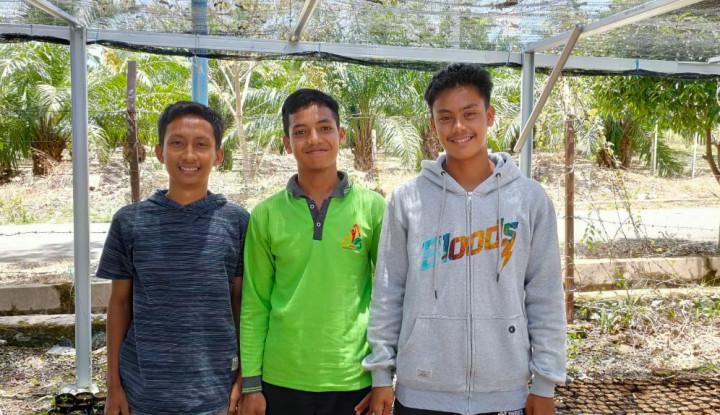 Kelola Dana PWMP, 3 Siswa SMK PP Rintis Bisnis Budi Daya Sayuran Hidroponik