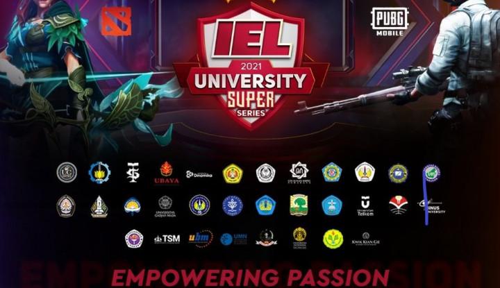 Liga Esports IEL University Super Series Season 3 Resmi Bergulir