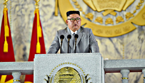 Kim Jong-un Bersabda, Minta Para Pejabat Korut Rela Lakukan Pengorbanan...