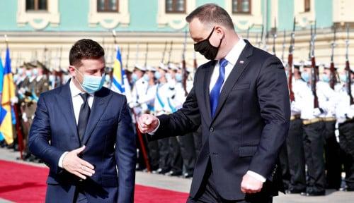 Tantang Tatap Muka dengan Putin, Presiden Ukraina: Tuan Putin, Saya Siap...
