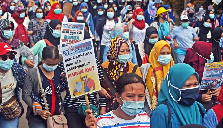 KSPI Ancam Demo Akbar Seluruh Indonesia Jika Presiden Jokowi...
