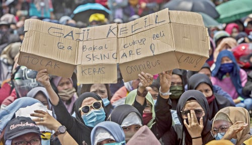 Mahfud MD: Silakan Unjuk Rasa, Tapi Hati-hati Ada...