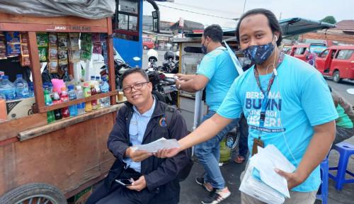 Lindungi Negeri, Satgas BUMN Sebar 45.000 Masker di Pusat Keramaian Ibu Kota
