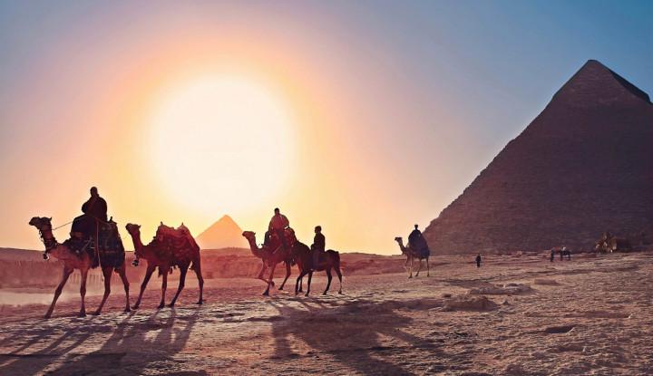 Fattah Al-Sisi Layangkan Undangan ke Emir Qatar untuk Kunjungi Mesir