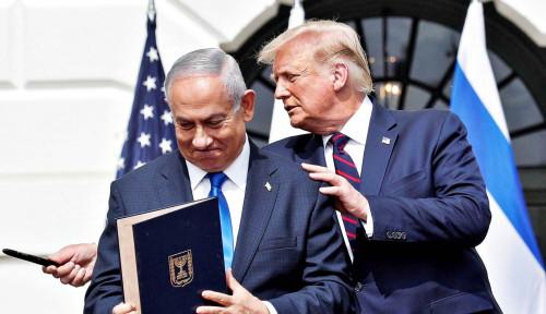 Pengkhianatan Tingkat Tinggi, Trump Sakit Hati Lihat Ucapan Selamat Netanyahu ke Biden
