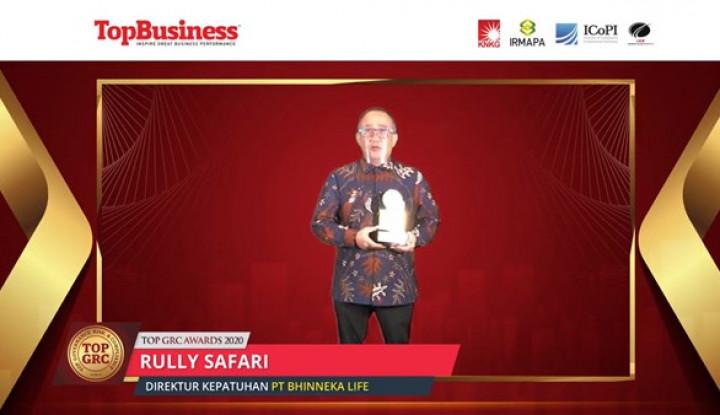 Komitmen Jaga Tata Kelola, Bhinneka Life Diganjar Penghargaan