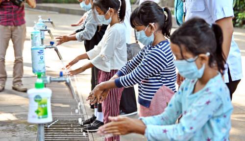Cuci Tangan Pakai Sabun, Perilaku Sederhana Ciptakan Generasi Sehat