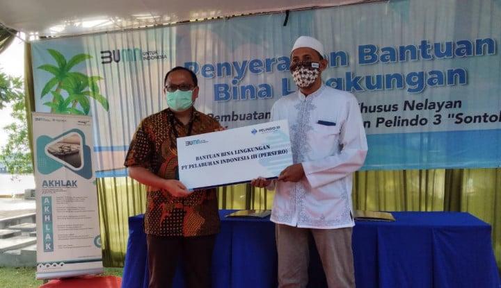 Dongkrak Ekonomi Nelayan, Pelindo III Gelontorkan Dana Rp1,7 M