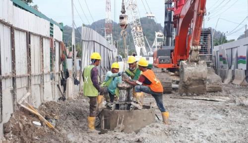 GRAHAPONDASI Garap Proyek Jalur Kereta Api Lintas Makassar