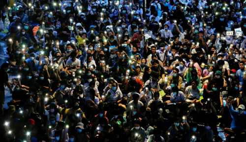 Milenial Thailand Gerakkan Demonstrasi, Gunakan Medsos buat Propaganda