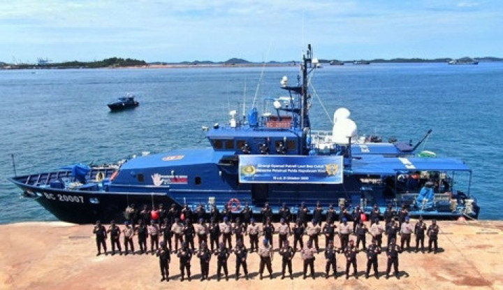 Jaga Kedaulatan Perairan Indonesia, Bea Cukai dan Polairud Patroli Laut Gabungan