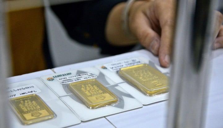 Harga Emas Antam Jelang Akhir Pekan, 23 Oktober 2020: Jeblok!