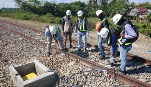 Len Bangun Jaringan Jalur Kereta Api Pertama di Sulawesi