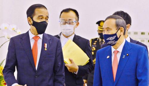 Kedatangan Suga dan Sambutan Hangat Jokowi Bikin China Meriang!