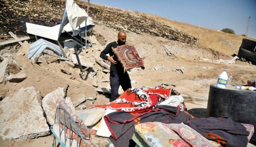 Biadab! Israel Benar-benar di Luar Batas, Hancurkan Komunitas Palestina untuk Ketujuh Kalinya