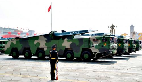Hati-hati, China Bikin Rudal Hipersonik Biar Nyali AS Ciut