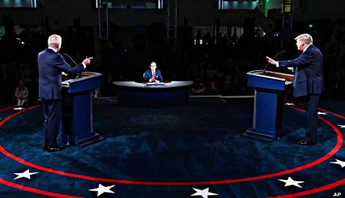 Cek Fakta Debat Final Capres AS Terkait Covid-19