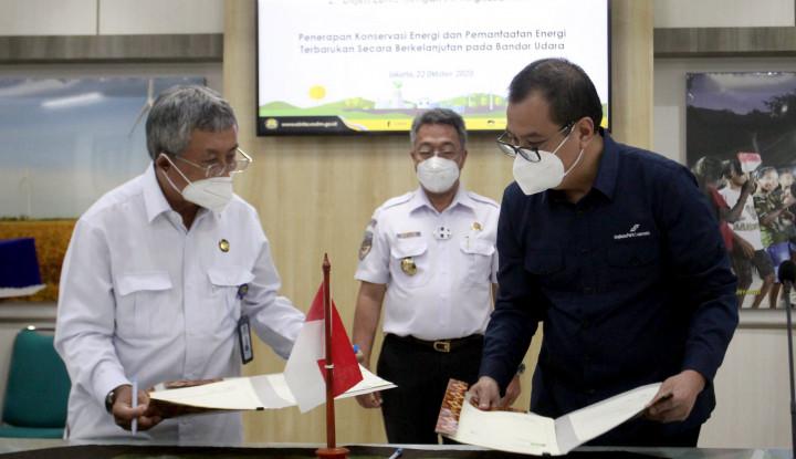 Ketja Sama Pemanfaatan Rnergi Terbarukan Di Bandara