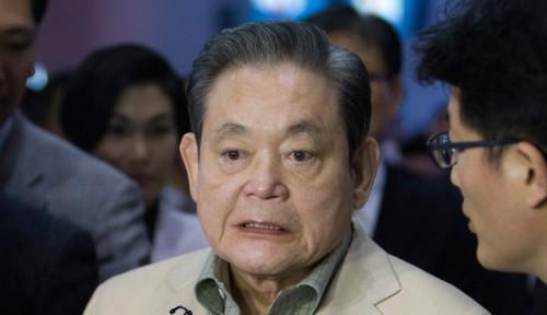 Foto Wafat di Usia 78 Tahun, Bos Samsung Wariskan Harta Kekayaan Ratusan Triliun