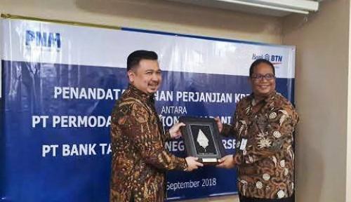 PNM Tandatangani Perjanjian Kerja Sama dengan BTN dan PermataBank Syariah