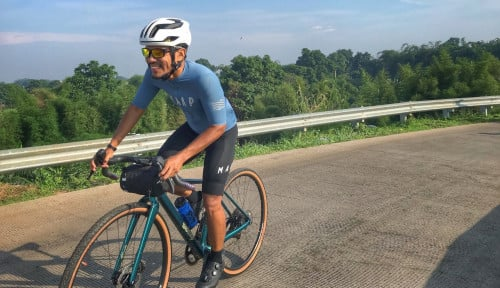Cerita Arief Wismoyono Tak Terhentikan Berlari Downhill UTMB di Prancis