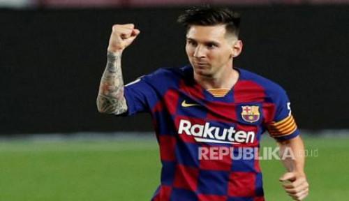 Saran Pique, Abadikan Nama Messi untuk Stadion Baru Barcelona