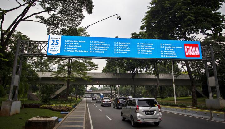 Ganjil-Genap Ditiadakan Lagi sampai 22 November 2020