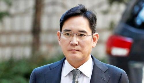 Foto Pewaris Samsung Dipenjara, Keputusan Penting Perusahaan Terbengkalai