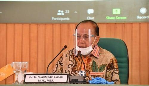 Wakil Ketua MPR-RI Syarief Hasan Dukung Langkah Jokowi Perpanjang PPKM Level 4