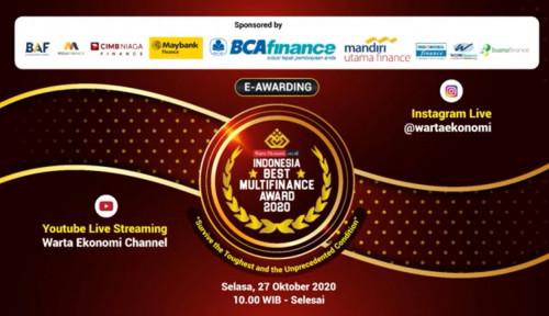 Selamat! Berikut Daftar Pemenang Indonesia Best Multifinance Award 2020