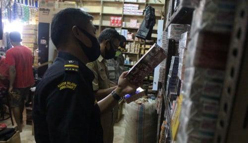 Lewat Operasi Pasar, Bea Cukai Tekan Peredaran Rokok Ilegal