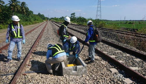 Meski Pandemi, Len Tetap Garap Proyek PJU Tenaga Surya Hingga Railway Kereta Api