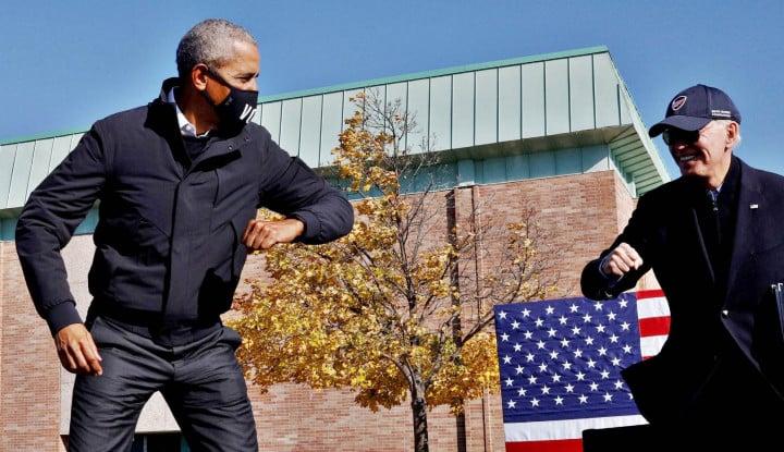 Joe Biden Akan Tunjuk Obama Jadi Dubes di Inggris, PM Inggris Marah?