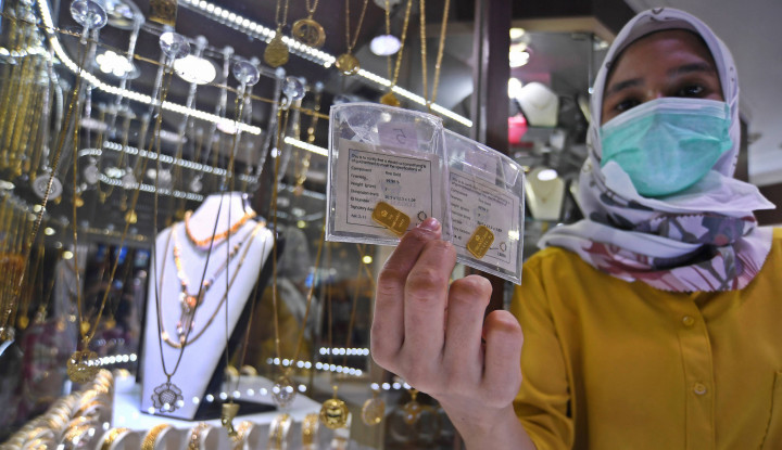Harga Emas Antam Hari Ini, 26 Januari 2021: Nyalinya Ciut!